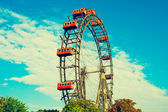 VIENNA, AUSTRIA - OCTOBER 12, 2014: Giant Ferris Wheel in Prater — Stockfoto