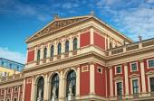 Wiener Musikverein (Viennese Music Association)  — Stock Photo