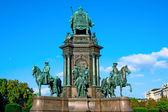 VIENNA, AUSTRIA - OCTOBER 09, 2014: Maria Theresia monument in f — Stock Photo