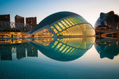 VALENCIA; SPAIN - JULY 14; 2015:  The city of the Arts and Scien — Stock Photo