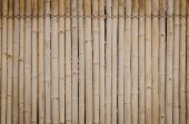 Old bamboo wall background — Stock Photo