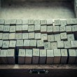 Alphabets stamp in the box. — Stock Photo #71119001