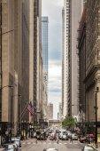 Finance District, Chicago, Illinois, USA — Stock Photo