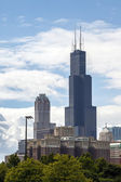 Sears Tower in Chicago, Illinois — Stock Photo
