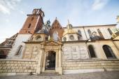 Famous, royal Cracow castle in Poland — Stockfoto