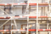 Blurred construction background — Stock Photo