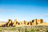 Buildings in Chaco Culture National Historical Park, NM, USA — Stock Photo