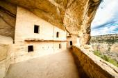 Cliff dwellings in Mesa Verde National Parks, CO, USA — Stock Photo