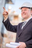 Construction manager — Stock Photo