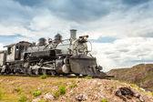 Eski lokomotif — Stok fotoğraf