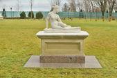 Park sculpture — Stock Photo