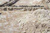 Pila de sal — Foto de Stock