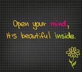Ouvrez votre esprit — Vecteur