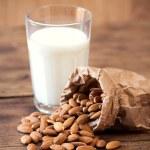Almond milk — Stock Photo #54734243