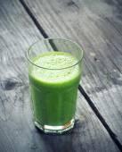 Yeşil smoothie — Stok fotoğraf