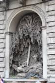 One of the four famous fountains of Bernini in delle quattro fon — Stock Photo