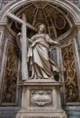 VATICAN - SEPTEMBER 25: Interior of Saint Peters Basilica on Sep — Zdjęcie stockowe