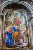 VATICAN - SEPTEMBER 25: Interior of Saint Peters Basilica on Sep — 图库照片