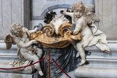 VATICAN - SEPTEMBER 25: Interior of Saint Peters Basilica on Sep — Stockfoto