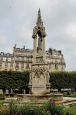 View of Cathedral Notre Dame de Paris - a most famous Gothic, Ro — Stock fotografie