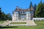 Switzerland - SEPTEMBER 04: House in the Alps. September 05 , 2012 — Stock Photo