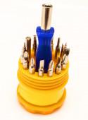Set of screwdrivers — Stock Photo