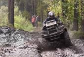 Extreme driving ATV. — Stock Photo