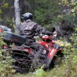 Extreme driving ATV. — Stock Photo #53530175