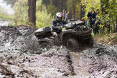 Extreme driving ATV. — Foto de Stock