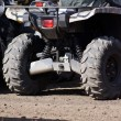 Extreme driving ATV. — Stockfoto #58520175