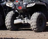 Extreme driving ATV. — Zdjęcie stockowe