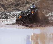 Extreme driving ATV. — ストック写真