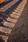 Deckchairs — Stock Photo