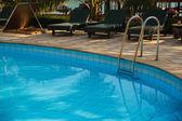 Havuz tropikal tatil — Stok fotoğraf