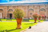 Belvedere Courtyard — Stock Photo