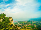 Cesta fortress, San Marino — Stock Photo