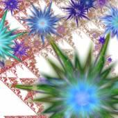 абстрактные цветы — Стоковое фото