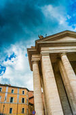 Architectural detail of colonnade in Vatican - Rome, Italy — Stok fotoğraf