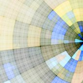 Abstract radial background — Stock Photo