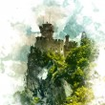 Cesta fortress, San Marino — Stock Vector #70846189