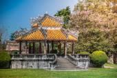 Pavilion in parks of citadel, Hue — Stock Photo