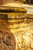 Old rustic column — Стоковое фото