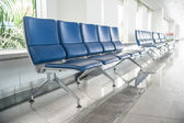 Airport waiting area — Stock Photo