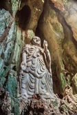 Statue of Budda in Marble Mountains, Vietnam — Stockfoto
