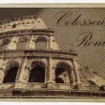 Colosseum, Rome — Stock Vector #72276975