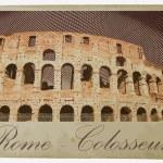 Colosseum, Rome — Stock Vector #72276989