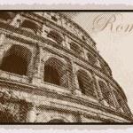 Colosseum, Rome — Stock Vector #72277001