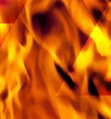 Ogień w formacie wektorowym — Wektor stockowy