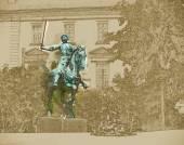 Satue of Jeanne dArc, Reims — Stock Photo