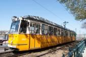 Historical tram — Stock Photo